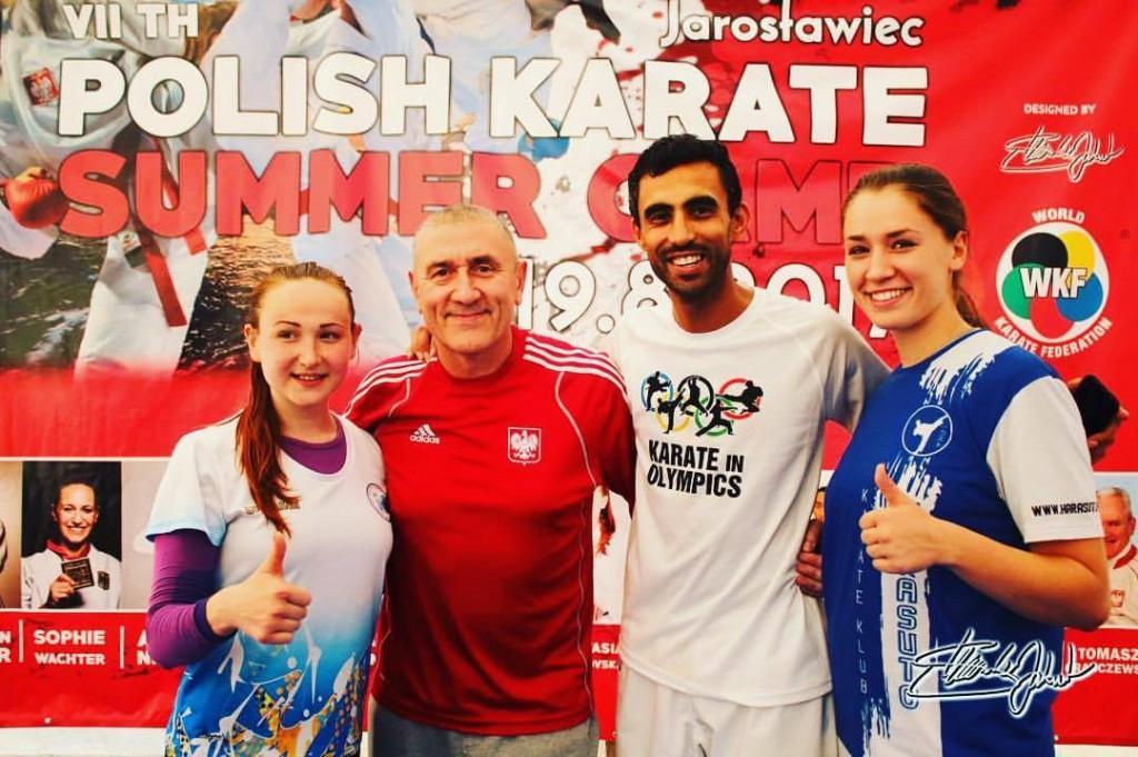 Goście specjalni obozu klubowego - Mistzryni Europy Anastasia Velozo Miastkovska oraz Rida Bel-lahsen