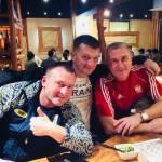 Trener Janusz i trenerzy Kadry Ukrainy na Okinawie, Japonia