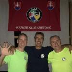 Christian Gruner, Fero Kretovic i Janusz Harast