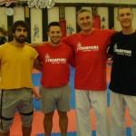 Gwiazdy światowego karate - Rafael Aghayev (jeden z najbardziej utytułowanych zawodników na świecie), Jonathan Mottram oraz Junior Lefevre (jeden z najlepszych zawodników i trenerów w historii)