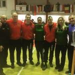 Trener Janusz oraz zawodnicy i trenerzy ze Słowacji i Ukrainy, a wśród nich Stanislav Horuna (multimedalista WKF oraz Grand Winner światowego rankingu) wraz ze swoim trenerem Antonem Nikulinem
