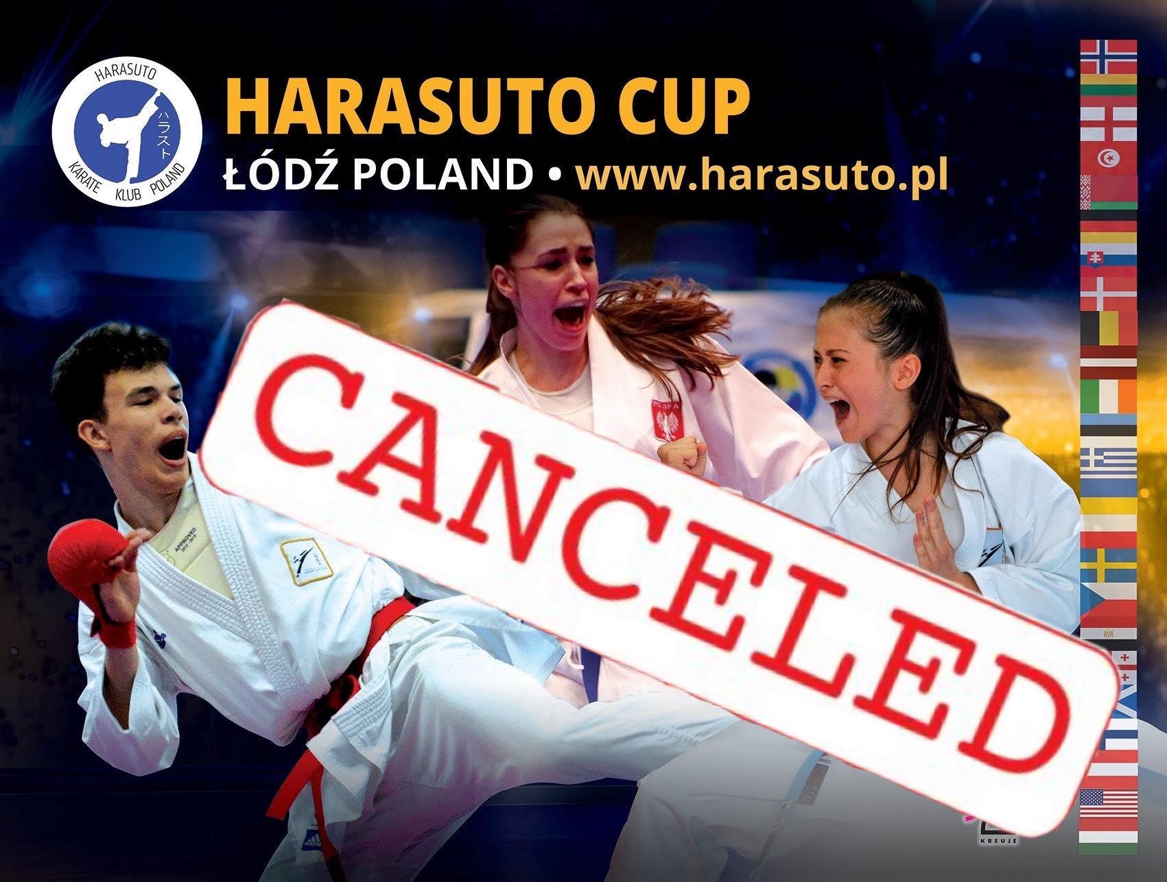 Harasuto Cup odwołane