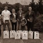 Nagrody od Burmistrza Koluszek - Michał Bankowski, Mateusz Bankowski, Paweł Sochański, Damian Suligorski, Kasia Kalinowska