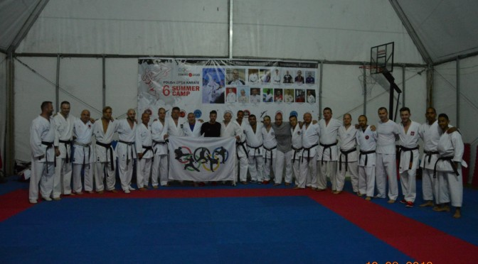 6 TH Polish international summer karate camp