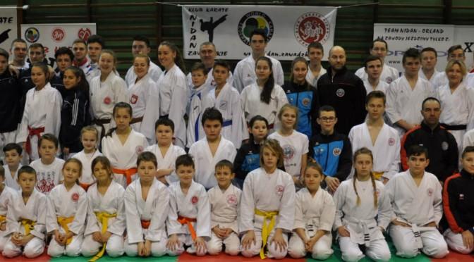 Zimowe zgrupowanie karate