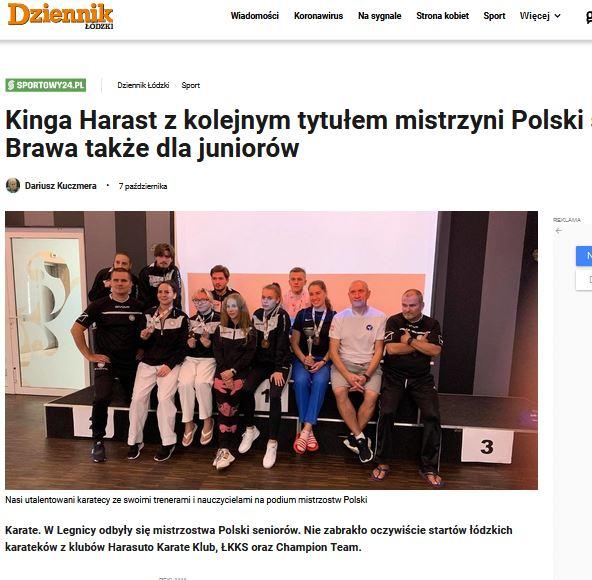 Artykuł o MPS Legnica 2020 4.10