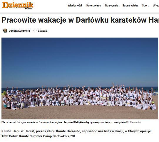 Artykuł o obozie w Darłówku https://dzienniklodzki.pl/pracowite-wakacje-w-darlowku-karatekow-harasuto-lodz/ar/c2-15124989?fbclid=IwAR2OcB75DzY8M_aut02zKNnaLU5mBZ3mQ1a9Jj86Jdny9GgDM0p34Dhsqto