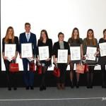 Nagrody dla 10 zwycięzców Plebiscytu na Sportowca Roku PŁ - Kinga Harast