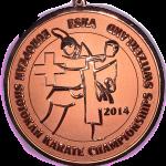 Brązowy medal Mistrzostw Europy ESKA Kinga Harast 2014