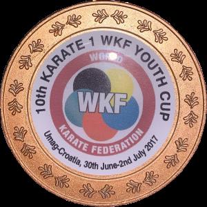 Brązowy medal na Lidze Światowej w Umag, Chorwacja - Kinga Harast U21 lipiec 2017