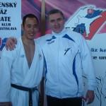 Janusz Harast z medalistą Mistrzostw Świata - George Kotaka