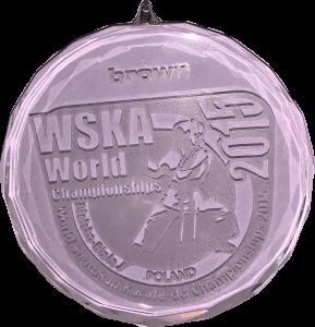 Brązowy medal Mistrzostw Świata WSKA Bielsko-Biała Kinga Harast 2015