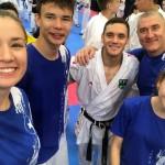 Umag, Chorwacja - gwiazda karate WKF, wielokrotny medalista oraz Mistrz Świata Douglas Brose z Brazylii