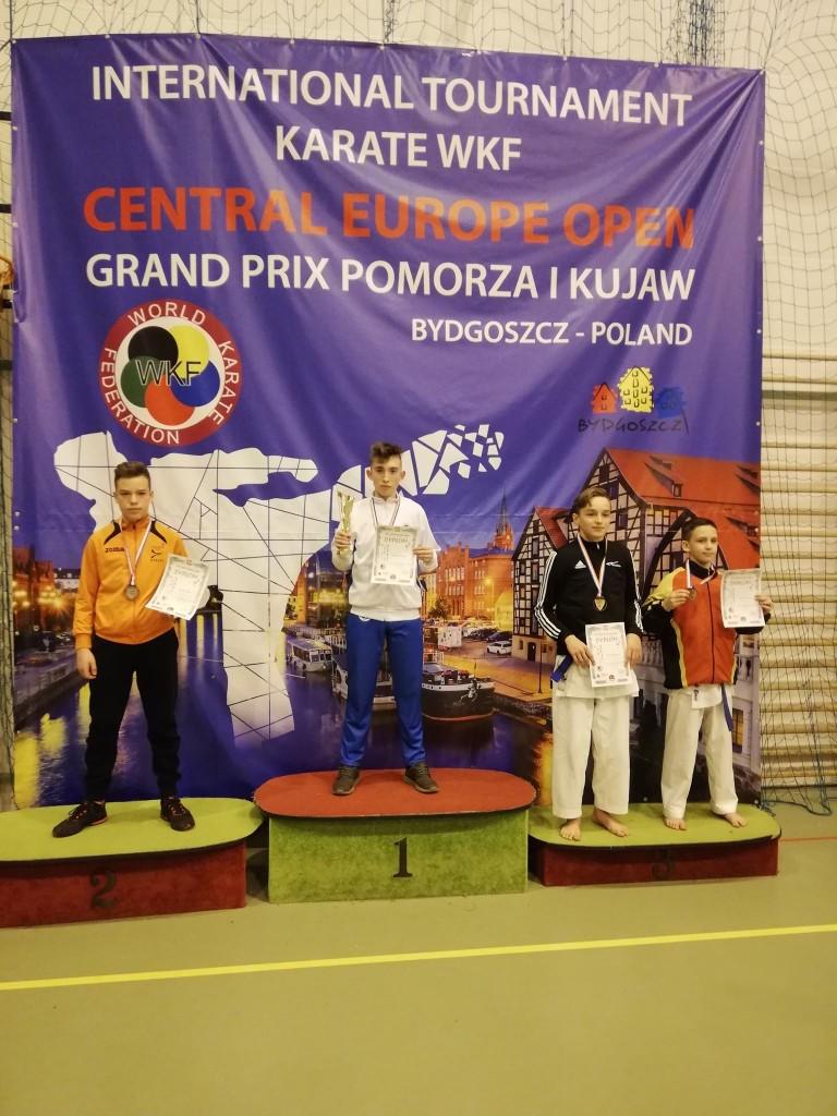 Kacper Gąsiorek - złoty medal w Bydgoszczy
