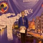 Szymon Piwoński - brązowy medal w Bydgoszczy