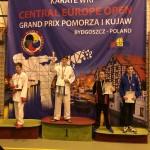 Szymon Piwoński na podium w Bydgoszczy