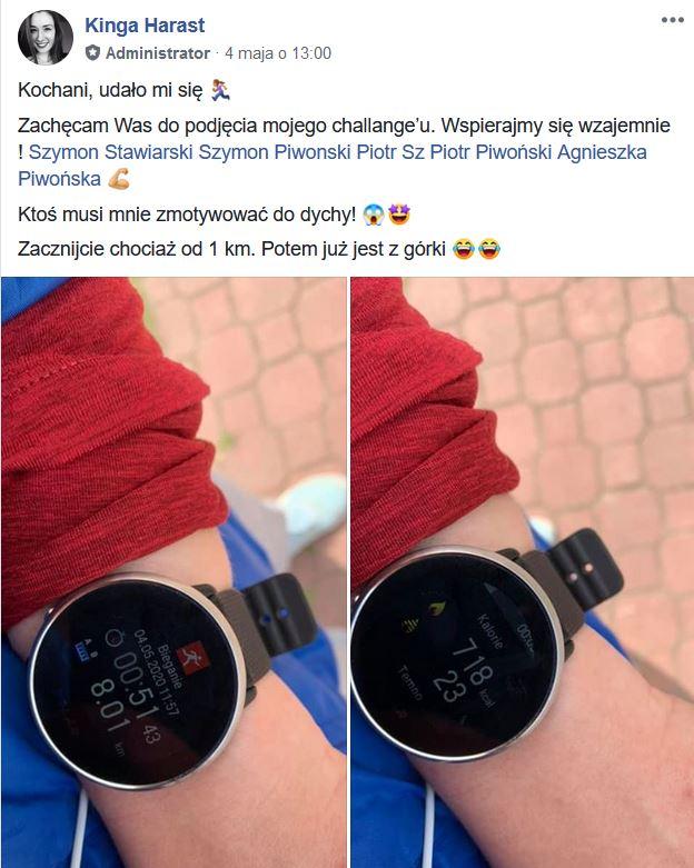 Challenge biegowy 1