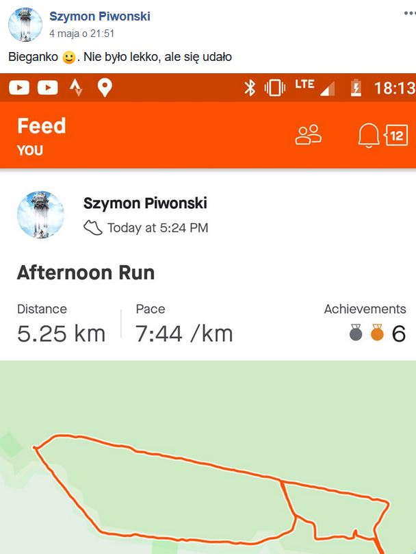 Challenge biegowy 3