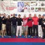 Gwiazdy światowego Karate WKF na obozie w Jarosławcu