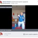 Trening live z trenerem Januszem 6.05 1