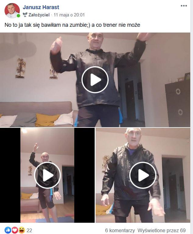 Zumba z Krystianem live 11.05 1