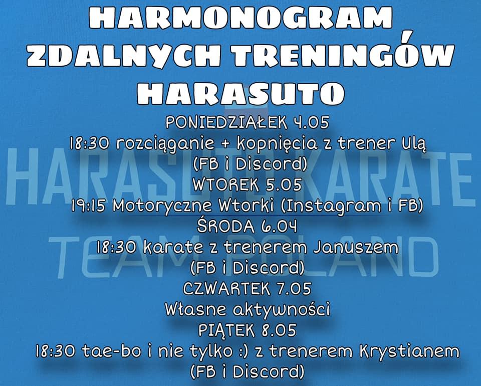 Harmonogram 8